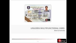 UNILORIN Verve ID Cards