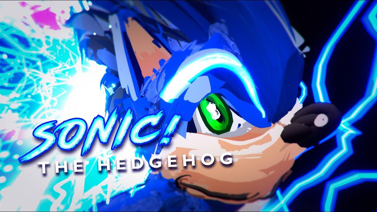 Have You Seen Sonic The Hedgehog On Tilt Brush Art Exercise Virtual Reartlity Youtube