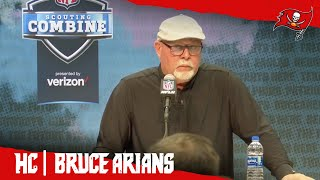 Bruce Arians on Jameis Winston & Offensive Line Draft Prospects | Combine Press Conference