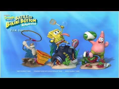 SpongeBob SquarePants: Battle for Bikini Bottom – Rehydrated – F.U.N. Edition Trailer