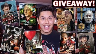 [ASMR] Horror Poster Giveaway! (Limited Edition!)