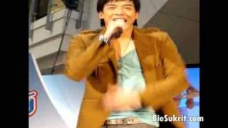 Bie @ New YumYum Jumbo Moo Sab Opening [5/6] MiniConcert