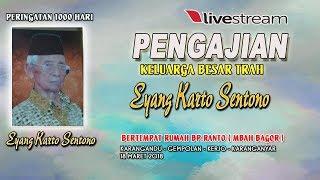 Live Streaming Pengajian Keluarga Beesar Trah Eyang Karto Sentono