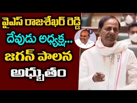 KCR Comments On YS Rajasekhara Reddy   KCR Assembly Speech   Andhra Politics