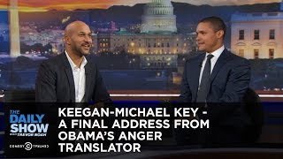 Keegan-Michael Key - A Final Address from Obama's Anger Translator: The Daily Show thumbnail