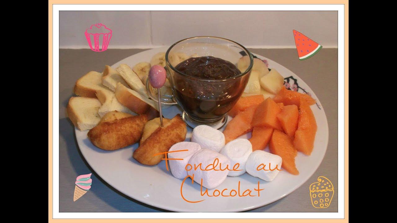 recette fondue au chocolat youtube. Black Bedroom Furniture Sets. Home Design Ideas