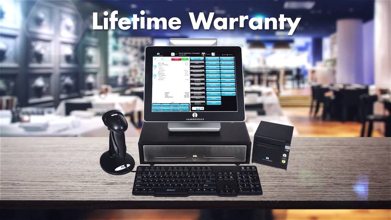Harbortouch Elite Pos System Youtube