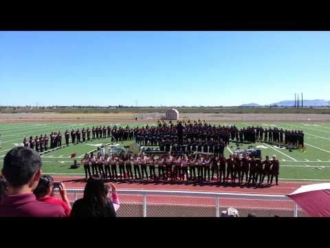 2013 NMSU @ Red Mountain Middle School