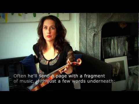 Monica Germino talks about Louis Andriessen's La Girò (2011), for violin & ensemble
