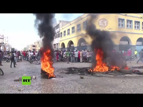 Haití : protestas contra el presidente Jovenel Moise