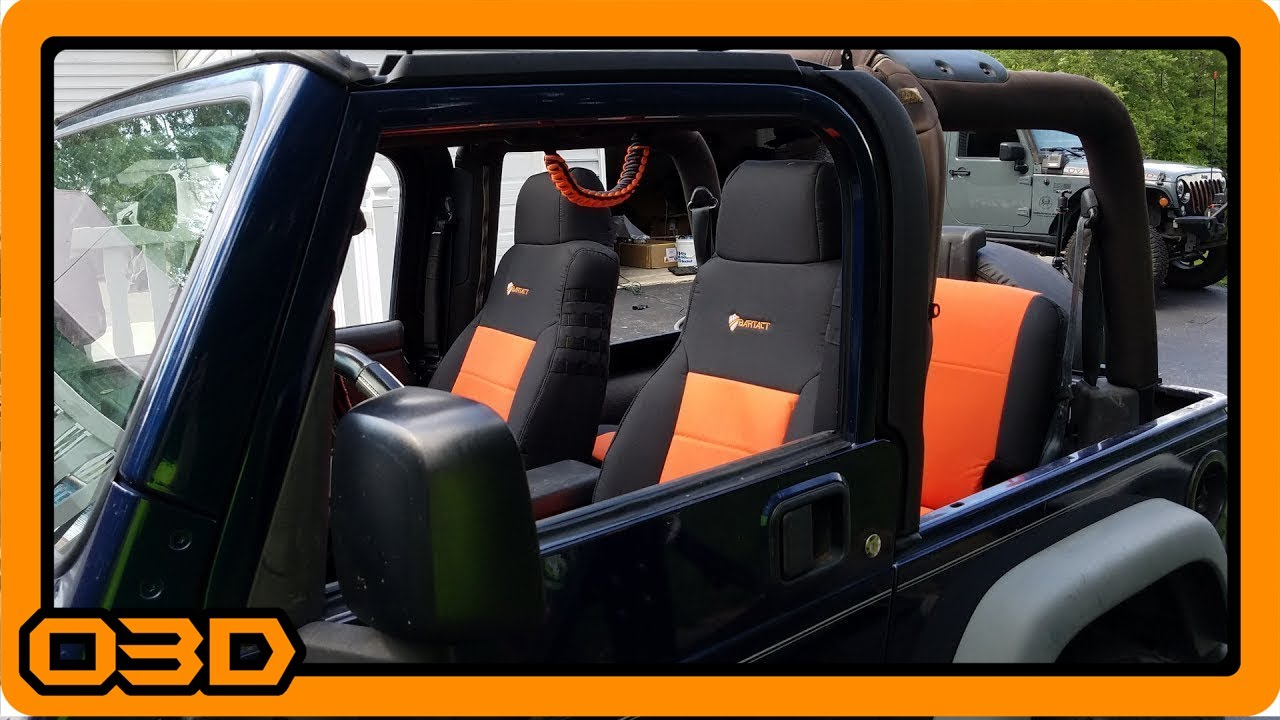 Project 2004 Jeep Tj Bartact Front And Rear Seat Cover