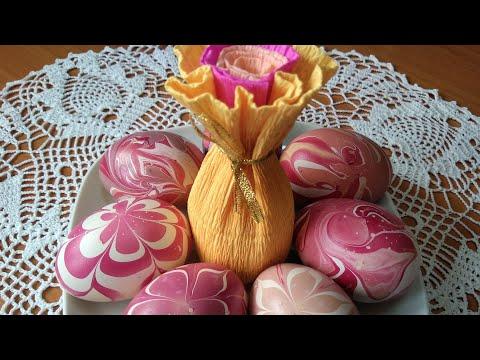 Необычные пасхальные яйца.