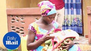 Ebola survivor Victoria Yillia gives birth to healthy baby boy - Daily Mail