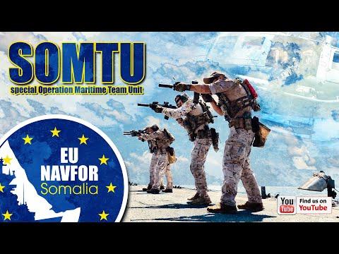 Operation ATALANTA - SOMTU ( Special Operation Maritime Team Unit)