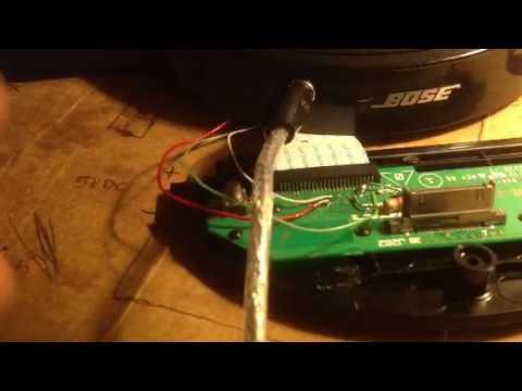 Bose sound dock entrada de audio casero