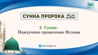 2- Сунна: Наилучшее проявление Ислама