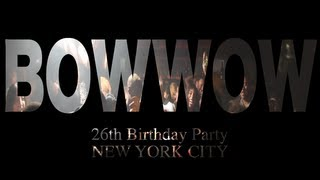 Bow Wow 26th Birtday Party In NYC