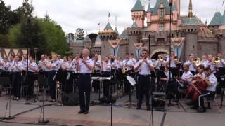 USAF Band at Disneyland - Air Force Song