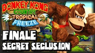 Donkey Kong Country Tropical Freeze Wii U - (1440p) FINALE - Secret Seclusion (Extra World)