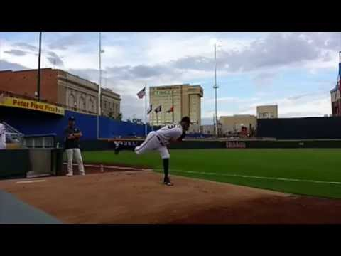 Andrew Cashner Slow Motion