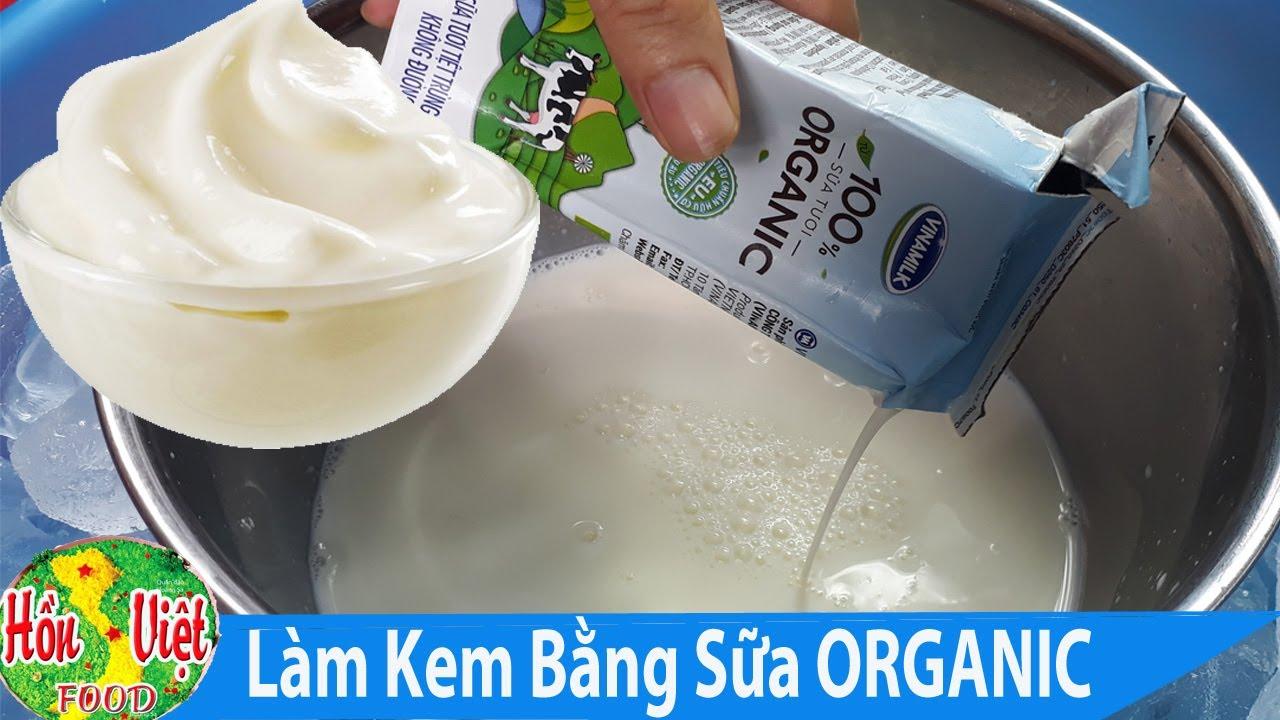 ✅ Chế Tạo Máy Làm Kem Siêu Tốc – Làm Kem Bằng Sữa Tươi ORGANIC Ngon Tuyệt Tại Nhà | Hồn Việt Food