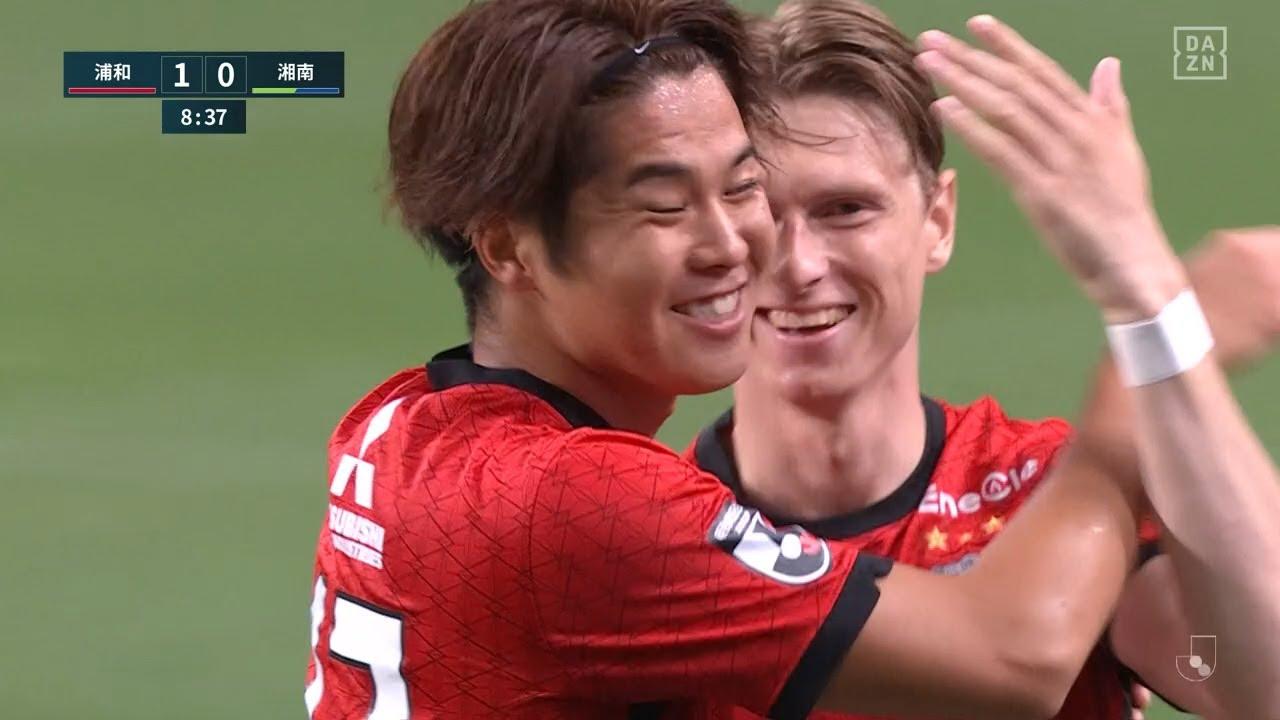 浦和FWキャスパー ユンカーがリーグ戦6試合で6点目となるゴールを決める|J1第18節 浦和v湘南|2021