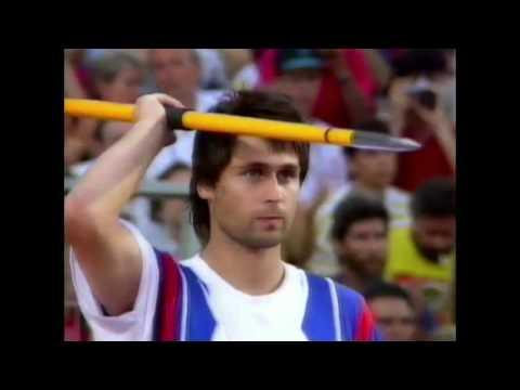 4127 Olympic Track & Field 1992 Javelin Men Jan Železný