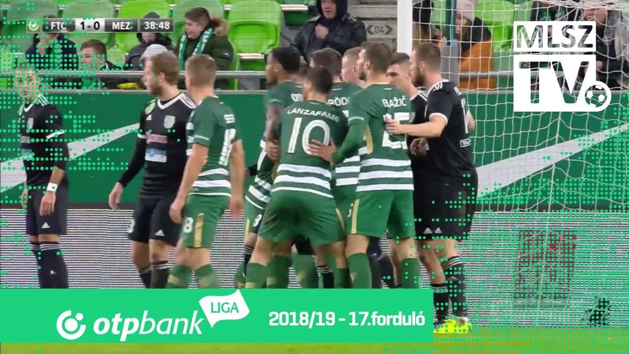 Ferencvárosi TC – Mezőkövesd Zsóry FC | 3-2 | (1-0) | OTP Bank Liga | 17. forduló | MLSZTV