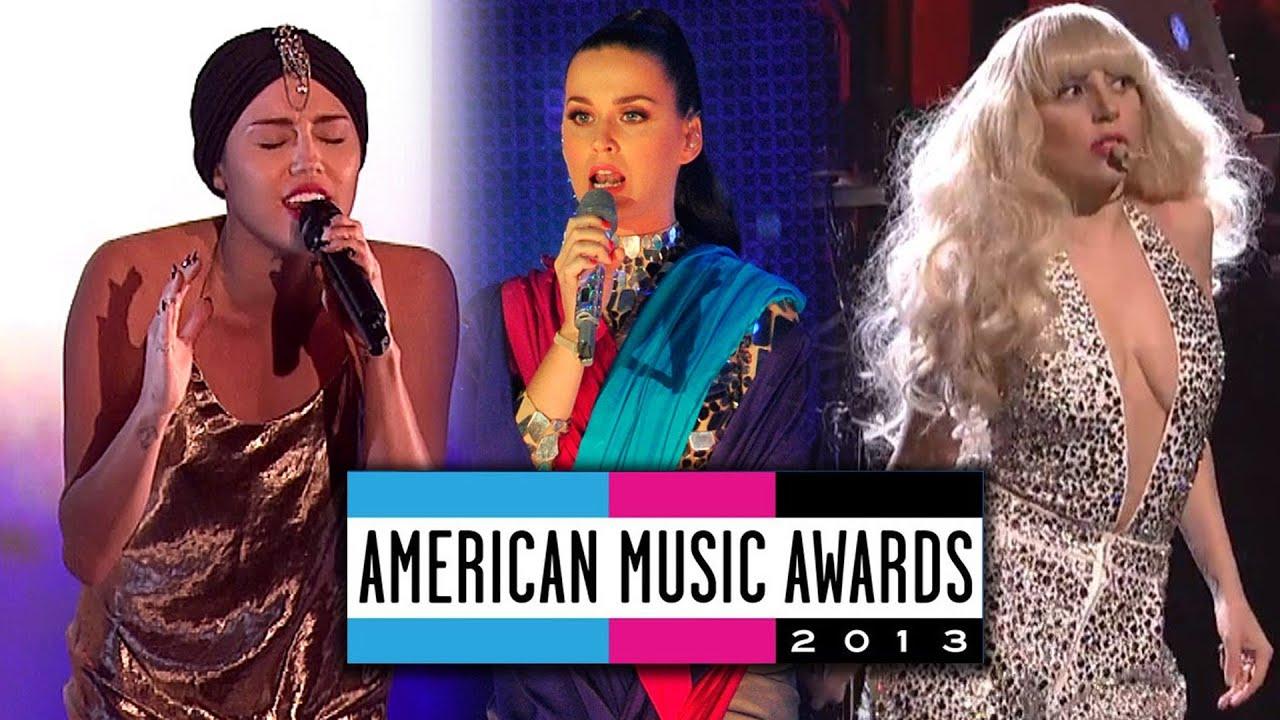 Lady Gaga Ama 2013 Performance