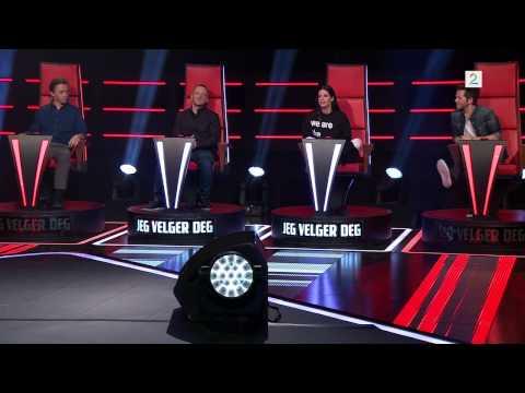 Knut Marius Sings 'Runaway Baby' By Bruno Mars In The Voice, Norway, Season 2 Episode 2