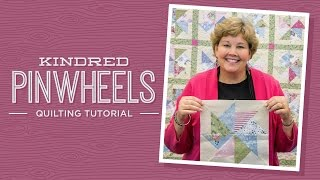 make a kindred pinwheels quilt with jenny