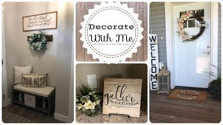 farmhouse decor 2018