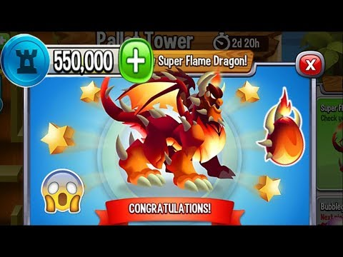 Dragon City - Super Flame Dragon [Pallet Tower Island | Completed 2018]