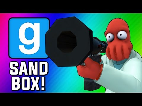 Gmod Sandbox Funny Moments - Fish Tank, Wii Sports, Trippy Maps, Crazy Bombs! (Garry's Mod)