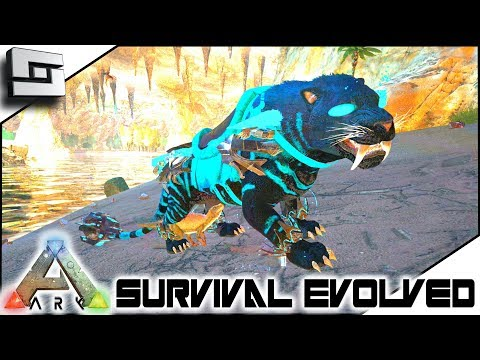 ARK: Survival Evolved - MYTH SABERTOOTH! S2E15 ( Modded Ark Extinction Core )