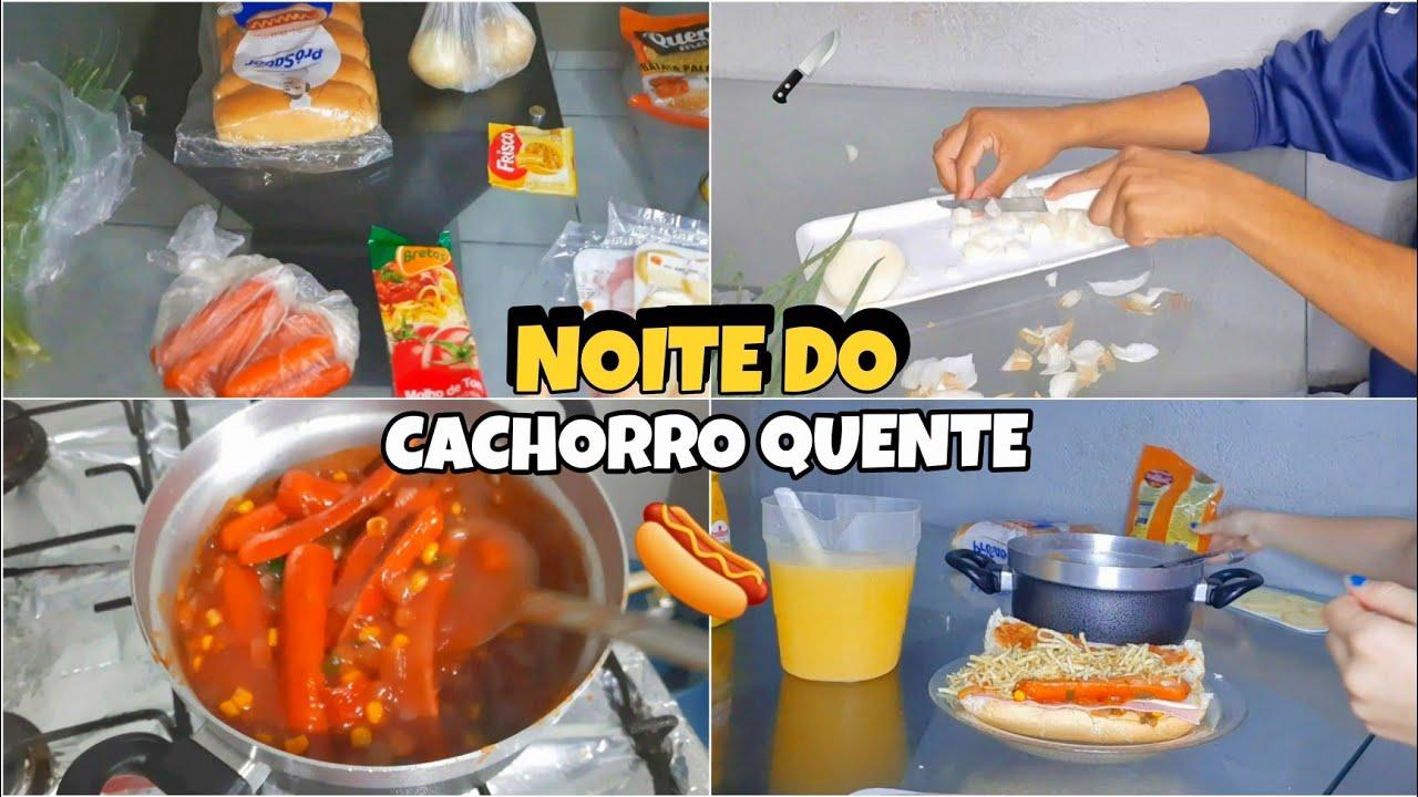 COZINHE COMIGO - NOITE DO CACHORRO QUENTE 🌭  (RECEITA)