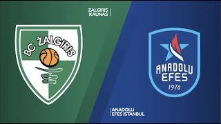 #EuroLeague 4. Hafta: Zalgiris - Anadolu Efes