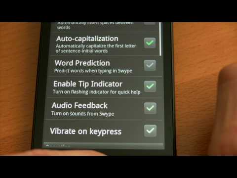 How to Enable and Disable Swype on Android