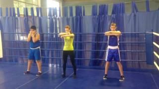 Уроки дистанционных тренировок по боксу!урок N2
