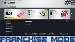Expansion Draft, Entry Draft + Free Agency - NHL 18 Franchise Mode (#2)