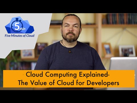 The Value of Cloud for Developers 5Moc- 21