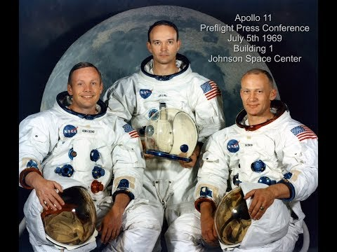 Apollo 11 Pre-Flight Press Conference (Full Mission)