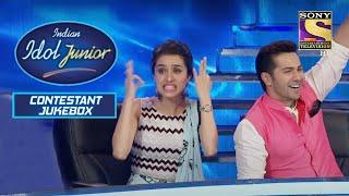 इस Singer की Singing पर Shraddha हुई कुछ इस क़दर Shock   Indian Idol Junior   Contestant Jukebox