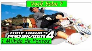 1 Milhão de Pontos - Tony Hawk