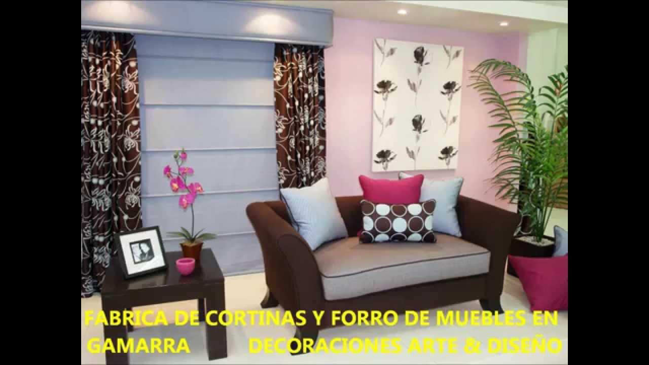 Fabrica de cortinas y forro de muebles en gamarra - Decoracion de cortinas ...