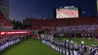 "2015 Ohio State vs Virginia Tech:  ""Enter Sandman"""