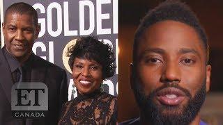 John David Washington Stops Interview To Praise Mom