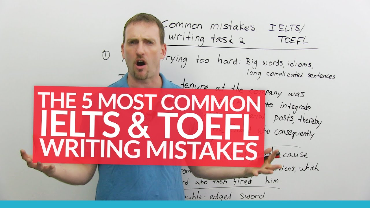 Common mistakes in essay writing