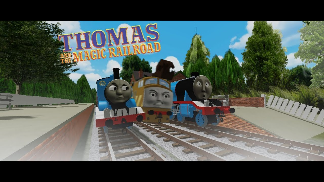 Csx Roblox Diesel 10 Returns Thomas And The Magic Railroad Opening Roblox Clip Remake Youtube