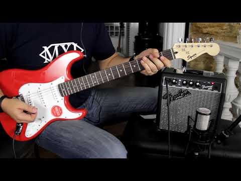Fender Frontman 10G  + Squier Bullet Strat  Demo